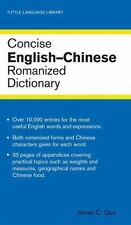 Concise English-Chinese Romanized Dictionary (Tuttle Language Library)