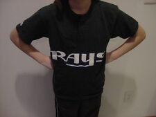 SWEET Tampa Bay Rays Youth Sz Md Green Majestic Jersey Style T-Shirt, NEW&NICE!!