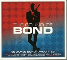 THE SOUND OF BOND 60 JAMES BOND FAVOURITES Inc THE THEME, SKYFALL & MANY MORE