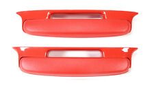 57 Chevy Bel Air Armrest *NEW* Red Pair 1957 Chevrolet