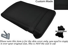 BLACK STITCH CUSTOM FITS YAMAHA 1000 YZF R1 98-99 REAR LEATHER SEAT COVER
