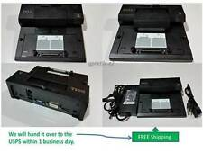Genuine Dell Latitude E- Port Docking Station PR03X with PA-4E Adapter.