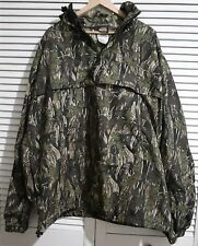 Stunning CARHARTT Mens Camo Green Windbreaker Top Jacket Excellent UK Size XXL
