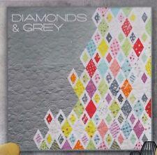 Diamonds & Grey -  fabulous modern pieced quilt PATTERN - Zen Chic