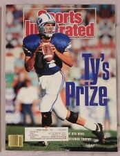 1990 Sports Illustrated TY DETMER BYU HEISMAN TROPHY