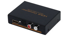 HDMI To HDMI + Optical 5.1 Stereo Audio Extractor For Dolby DTS LPCM