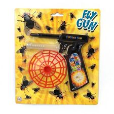 FLY GUN FUN TOY SWATTER HOME PEST CONTROL BOYS BIRTHDAY PARTY BAG FILLERS GIFT