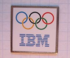 IBM / OLYMPISCHE RINGE  ...................Computer Pin (112j)