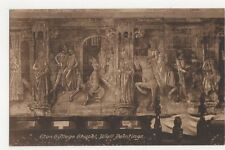 Eton College Chapel Wall Paintings Vintage Postcard 084a