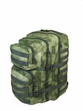 Mil-Tacs Camo Molle RUCKSACK Assault Large 36L BACKPACK Tactical Army Day Bag