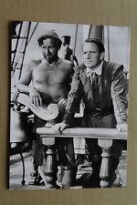 (X16) PRESSEFOTO Llyoyd Bridges/Spencer Tracey - Schiff ohne Heimat 1952