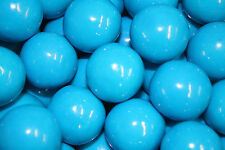 GUMBALLS BLUEBERRY BUBBLE GUM 25mm or 1 inch (57 count), 1LB