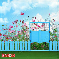 Spring/Garden 10'x10'Computer/Digital Scenic Photo Background Backdrop SN838B881