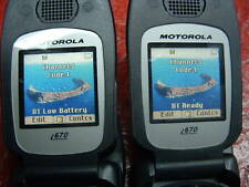 Lot of 2: Motorola Nextel iDEN i560 Black *RUGGED* DIRECT TALK*Unlock Mexico
