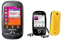 Cellulare Samsung Corby gt-s3650 Black/Orange-libero per tutte le schede SIM NUOVO