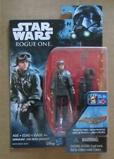 Star Wars ROGUE ONE SERGEANT JYN ERSO Action Figure NIP ~ 3.75 inch