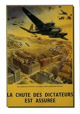 WW2 - CP - Photo affiche britannique - Bombardement de Berlin par la RAF