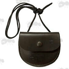 Bisley Leather Pellet Pouch Carry Shoulder Bag Air Rifle Gun Shooting