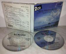 2 CD HANDEL - MUSICA SULL'ACQUA / PER FUOCHI D'ARTIFICIO / CONCERTI GROSSI OP.6