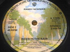 "RANDY NEWMAN - RIDER IN THE RAIN     7"" VINYL"