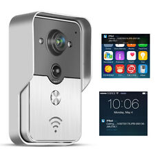 Wireless WiFi Video Camera Door Phone Doorbell Eye Visual Ring Intercom Night