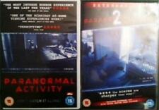 PARANORMAL ACTIVITY 1 & 2 [One,Two] Oren Peli Found Footage Horror DVD *EXC*