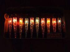 Vintage Icicle Christmas Tree Lights Multicolor Midget Miniature Riken Japan Box
