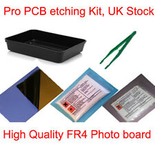 Pro Pcb Foto Junta Grabado etch Simple Set Kit Nuevo Reino Unido Stock