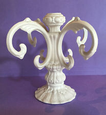 New Cast Metal lamp Column, Base Part flat white finish