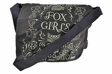 Fox Racing Girls RACE FOXY Gray White Cross Body Bag Small Messenger Purse