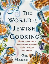 The WORLD OF JEWISH COOKING: More Than 500 Traditional Recipes from Al-ExLibrary