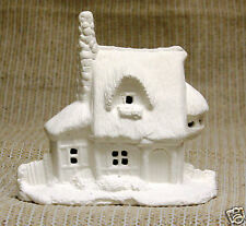Ceramic Bisque Village Country Cottage 2 Duncan Mold 1119 U-Paint Ready To Paint
