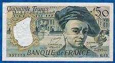 FRANCE - 50 FRANCS QUENTIN DE LA TOUR Fayette n° 67.3 de 1978 en TTB K.13 357775