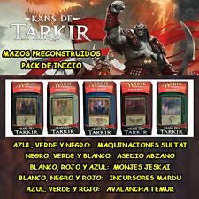 MTG MAGIC PACK DE INICIO KANS DE TARKIR - ESPAÑOL - MAZO PRECONSTRUIDO