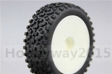 4pcs 1/10 Buggy Tires Dish Wheel Tire Set For 4WD Buggy Off Road 25024+27011