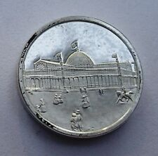 Franklin Mint Sterling Silver Mini-Ingot: 1853 World's Fair Crystal Palace