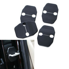 4x Protective Door Lock Safety Trim Cover Striker Kit for Grand Cherokee 11-2016