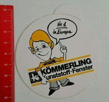 Aufkleber/Sticker: Kömmerling Kunststoff - Fenster (220616155)