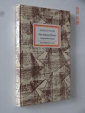 Insel-Bücherei Nr. 1048/1. EA. Pinter: Der stumme Diener.
