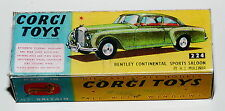 Reprobox Corgi Toys Nr. 224 - Bentley Continental Sports Saloon