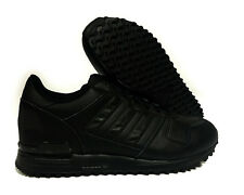 [S80528] ADIDAS ZX 700 BLACK MENS SNEAKERS SIZE 12