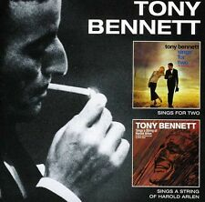 Tony Bennett, Tony B - Sings for Two / Sings a String of Harold Arlen [New CD]