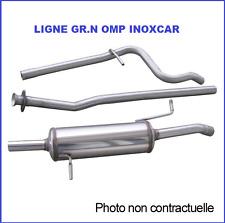 LIGNE ECHAPPEMENT GROUPE N OMP PEUGEOT 208 1,6 GTI 200ch EN INOX