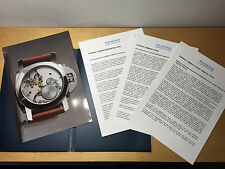 Used in shop - Press Release PANERAI - Luminor 8 Days - Spanish - For Collectors