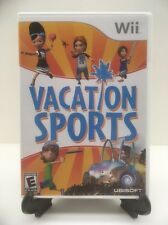 Vacation Sports - Nintendo Wii Video Game Complete Great Condition With Booklet
