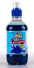 Blue Raspberry Slush Syrup x330ml Like slush puppy slush maker home Concentrates
