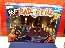WWF: Stone Cold Steve Austin BAD TO THE BONZ ***Exclusive T-Shirt*** Figure Set