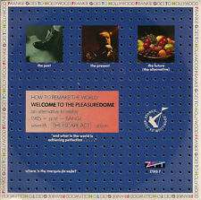 "Frankie Goes To Hollywood Welcome To The Pleasuredome UK 45 7"" Card FGTH"