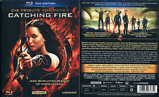 DIE TRIBUTE VON PANEM - CATCHING FIRE --- Blu-ray --- Fanedition --- der 2. Teil