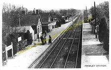 Frimley Railway Station Photo. North Camp & Ash Vale - Camberley. Ascot Line (1)